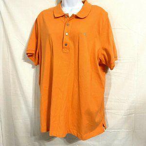 Lauren Ralph Lauren Womens Orange Polo Shirt 2X